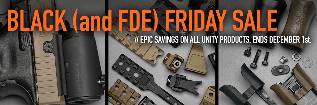 Black and FDE Friday Sale