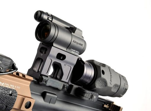 FAST Magnifier + Micro Mount Stowed