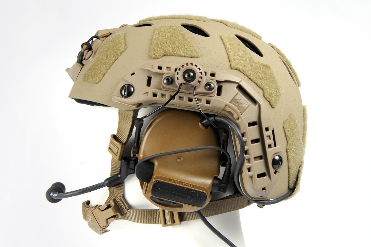 ARC Helmet Attachment Kit Peltor Rail  For Ops-Core FAST Rails